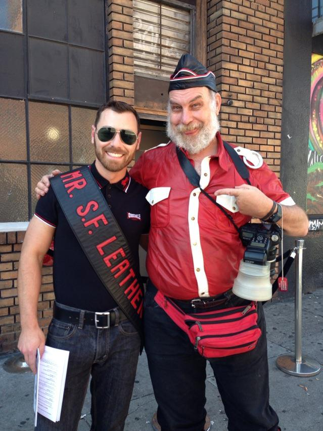 Andy Cross Iml International Mr Leather Iml 2013